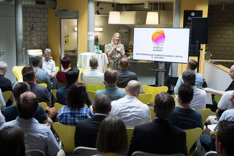 Startup Academy Liestal: Bereits 15 Startups ins Programm aufgenommen · Tenum Liestal · Erfahrene Unternehmer und Startups unter einem Dach